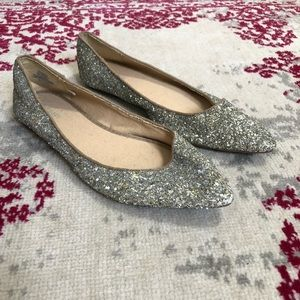 Old Navy Sparkly Flats